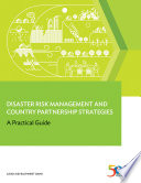 Disaster Risk Management and Country Partnership Strategies Book