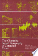 Changing Social Geography Of Canadian Cities