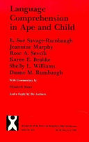 Language Comprehension in Ape and Child