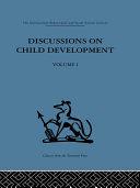 Discussions on Child Development Pdf/ePub eBook