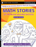 Math Stories For Problem Solving Success Book