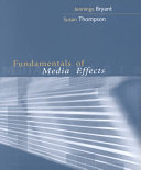 Cover of Fundamentals of media effects