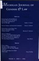 Michigan Journal of Gender & Law