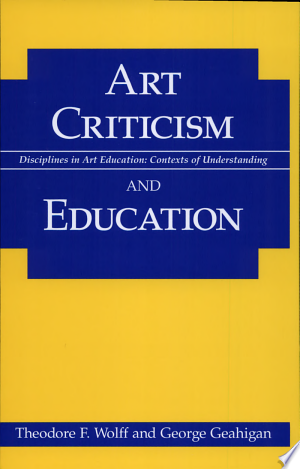 Art+Criticism+and+Education