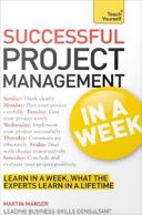 Successful Project Management in a Week Book