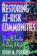 Restoring At-Risk Communities