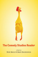 Pdf The Comedy Studies Reader Telecharger