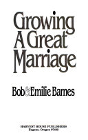 Growing a Great Marriage