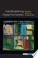 Interdisciplining Digital Humanities
