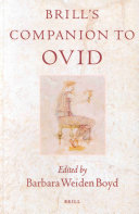 Pdf Brill's Companion to Ovid