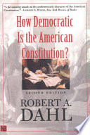 How Democratic Is the American Constitution