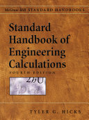 Standard Handbook of Engineering Calculations