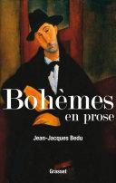 Pdf Bohèmes en prose Telecharger