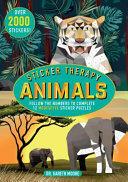Sticker Therapy Animals