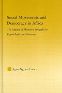 Social Movements and Democracy in Africa