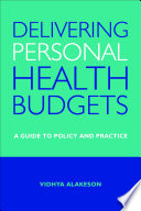 Delivering Personal Health Budgets Book