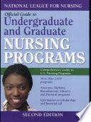 Official Guide to Undergraduate and Graduate Nursing Programs