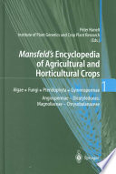Mansfeld's Encyclopedia of Agricultural and Horticultural Crops