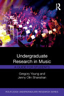 Undergraduate Research in Music