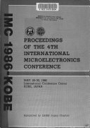 Proceedings of the 4th International Microelectronics Conference