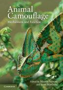 Pdf Animal Camouflage