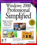 Windows 2000 Professional Simplified Book