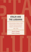 Stalin and the Lubianka