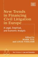 New Trends in Financing Civil Litigation in Europe [Pdf/ePub] eBook