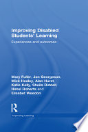 Improving Disabled Students  Learning
