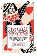 Feminist Organizing for Change Book