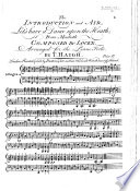The Introduction and Air  Let s have a dance upon the heath     Arranged for the piano forte by T  Haigh Book