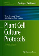 Plant Cell Culture Protocols Book