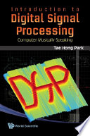 Introduction To Digital Signal Processing Book PDF