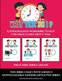 Preschool Books Online What Time Do I