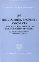 The Covering Property Axiom, CPA