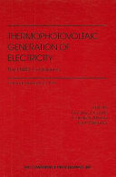Thermophotovoltaic Generation of Electricity