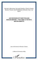 Anciennes et nouvelles solidarités / Vecchie e nuove solidarietà