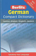 Berlitz German Compact Dictionary