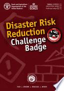 Disaster Risk Reduction Challenge Badge