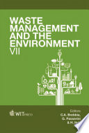 Waste Management And The Environment Vii Book PDF