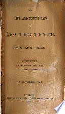 The Life and Pontificate of Leo the Tenth Book