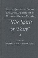 The Spirit of Poesy