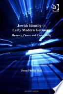 Jewish Identity in Early Modern Germany