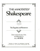 The annotated Shakespeare, volume III