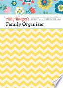 Amy Knapp's 2015-2016 Family Organizer