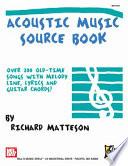 Read Online Acoustic Music Source Book Epub