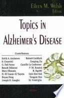 Topics In Alzheimer S Disease