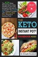 Keto Instant Pot   Cookbook  2020
