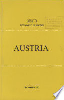 Oecd Economic Surveys Austria 1977
