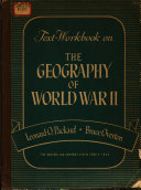Text workbook on the Geography of World War II